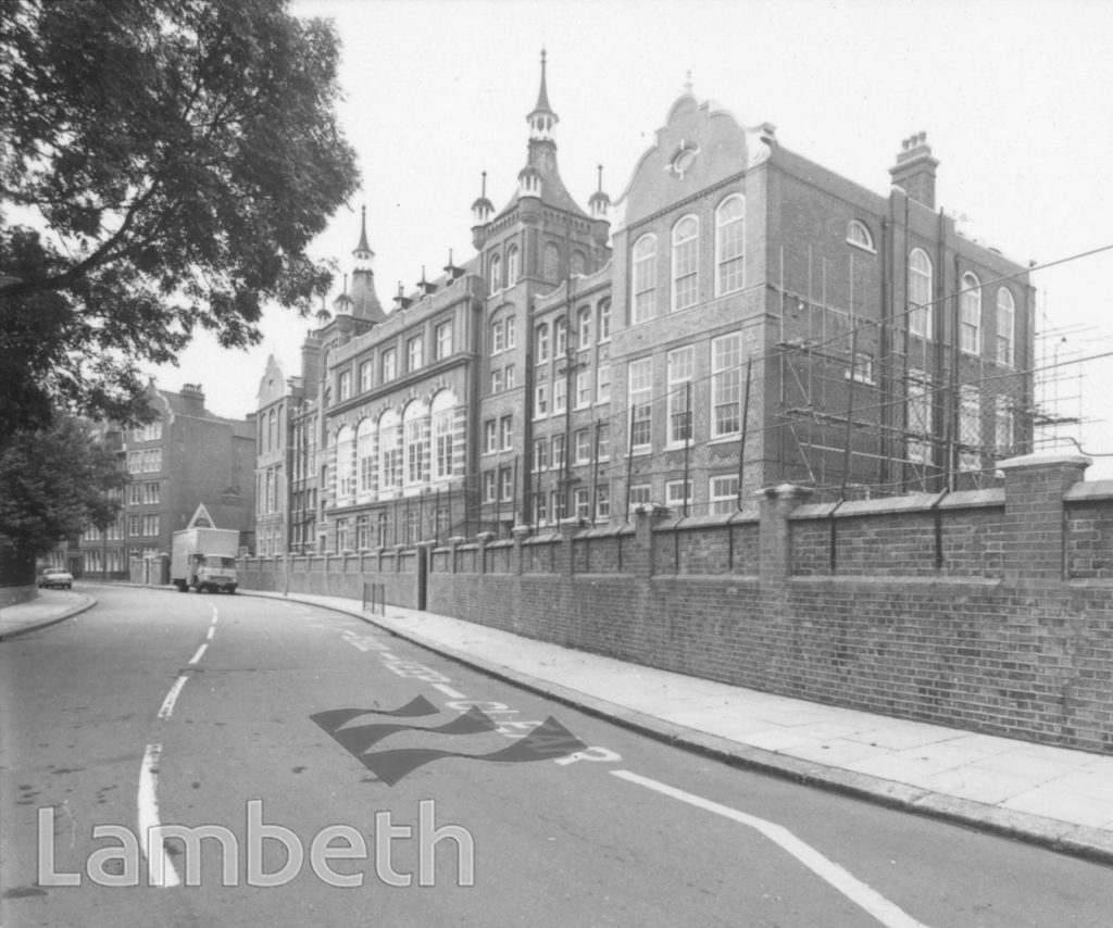ST GABRIEL'S SCHOOL, CORMONT ROAD, BRIXTON NORTH