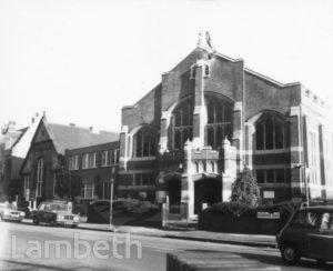 METHODIST CHURCH, RIGGINDALE ROAD, STREATHAM
