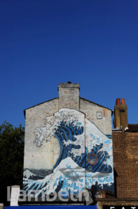 HOKUSAI 'GREAT WAVE', CAMBERWELL