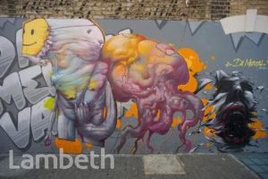 GRAFFITI, DENMARK HILL, CAMBERWELL