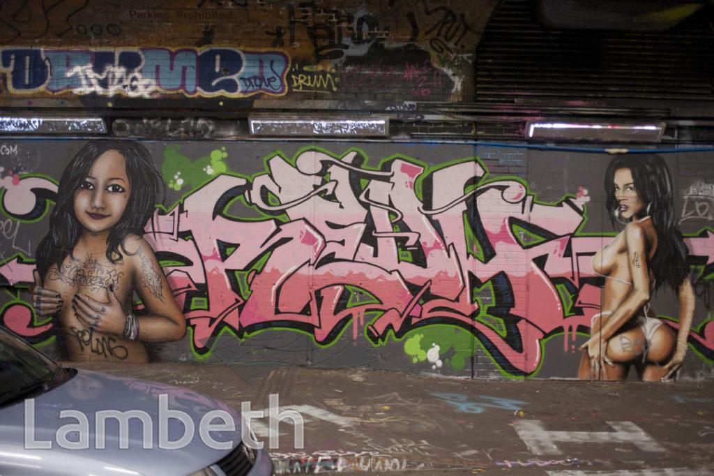 GRAFFITI, LEAKE STREET, WATERLOO