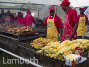 JERK COOKOUT, JAMAICAN FOOD FESTIVAL, BROCKWELL PARK