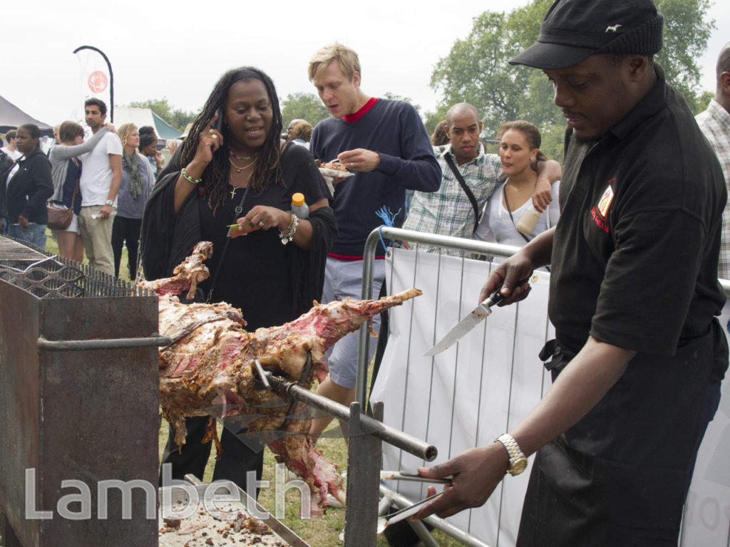 CARIBBEAN FOOD FESTIVAL, BROCKWELL PARK, HERNE HILL