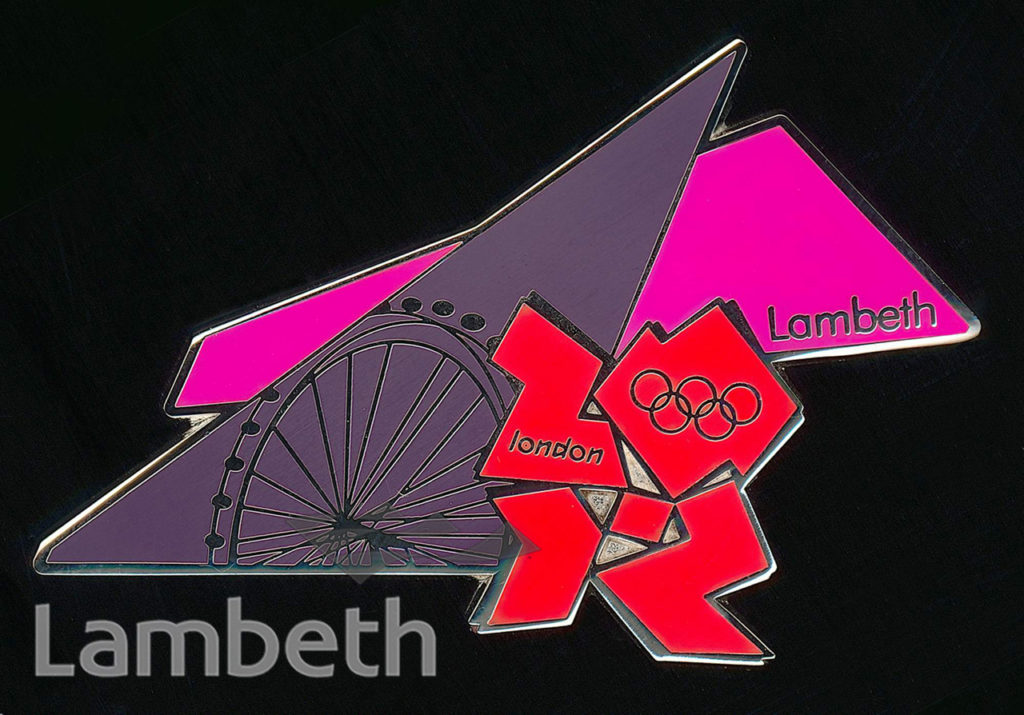 LAMBETH OLYMPIC BADGE