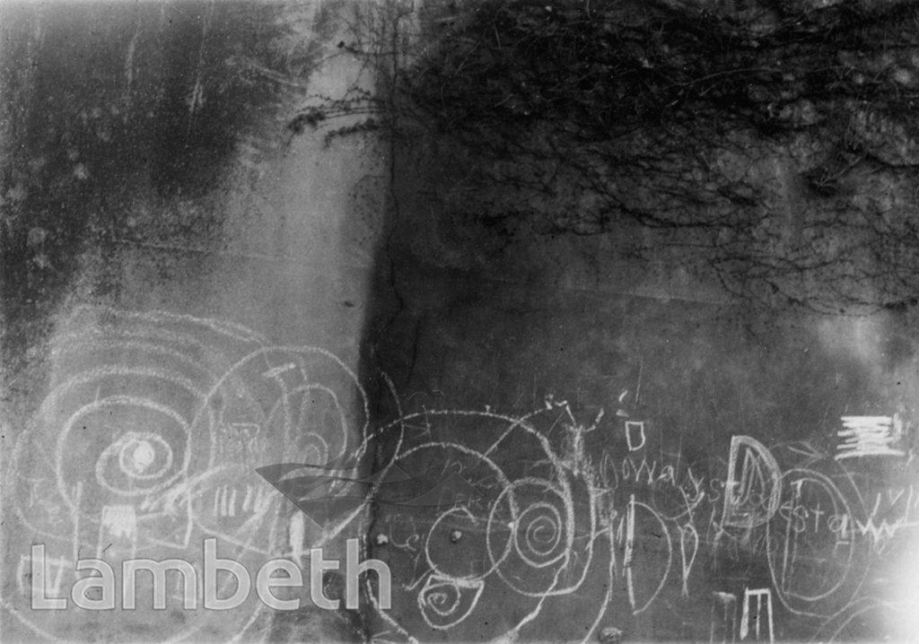 GRAFFITI, CURNICK'S LANE, WEST NORWOOD