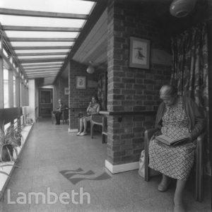 HOME FOR THE ELDERLY, BLENHEIM GARDENS ESTATE, BRIXTON HILL