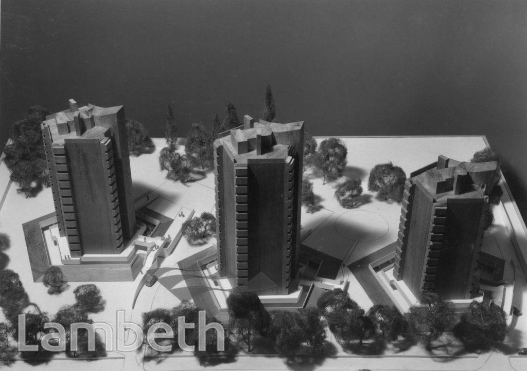 CLARENCE AVENUE TOWER BLOCK MODEL, CLAPHAM PARK