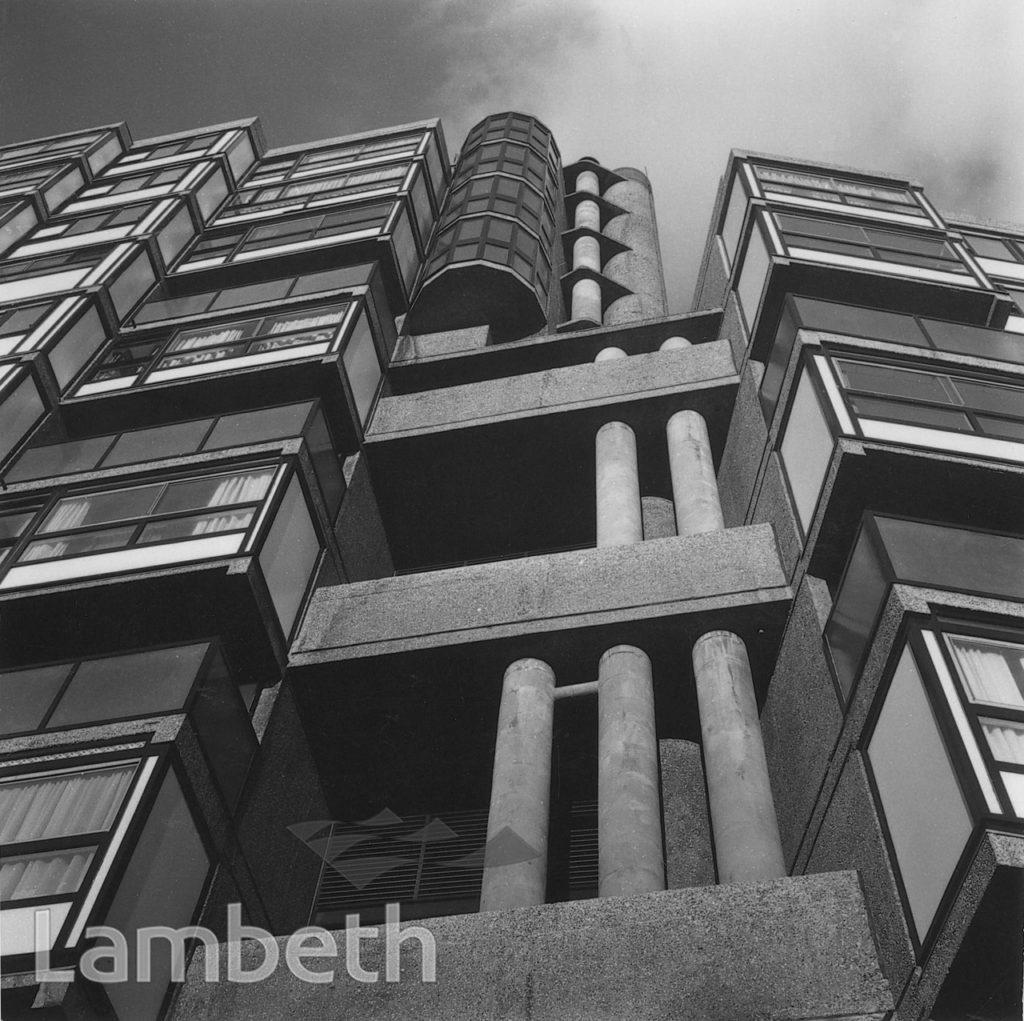 LAMBETH TOWERS, LAMBETH ROAD, LAMBETH