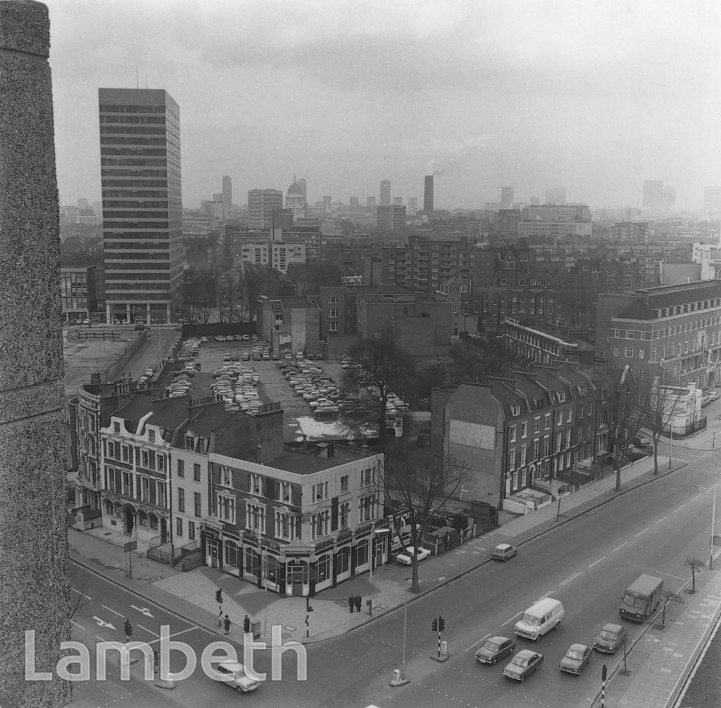 VIEW FROM LAMBETH TOWER, LAMBETH ROAD