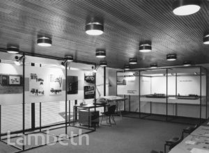 EXHIBITION, DEVELOPMENT OFFICE, CLAPHAM PARK ROAD