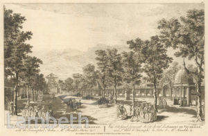 GRAND SOUTH WALK, VAUXHALL GARDENS