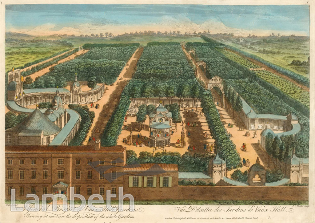 GENERAL PROPECT OF VAUXHALL GARDENS