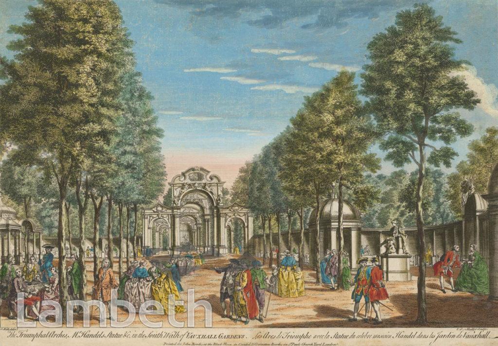 TRIUMPHAL ARCHES, VAUXHALL GARDENS