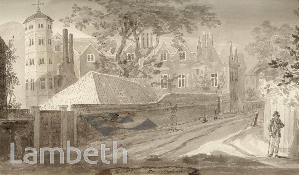 THE OLD MANOR HOUSE, TURRET GROVE, CLAPHAM