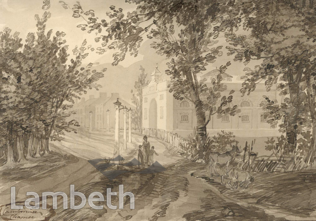 CAMBERWELL CHAPEL, DENMARK HILL, LOUGHBOROUGH JUNCTION