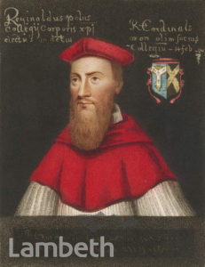 POLE- Cardinal Reginald