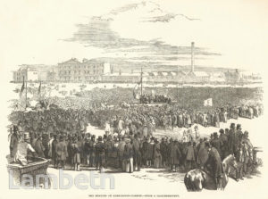 CHARTISTS' MEETING, KENNINGTON COMMON