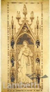 MONUMENTAL BRASS BY WILLIAM WALLER OF LAMBETH