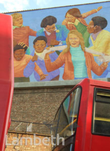 MURAL, STOCKWELL PARK WALK, BRIXTON
