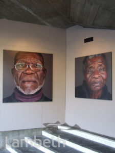 'THE ELDERS' EXHIBITION BY FRANKLYN RODGERS, SOUTH BANK