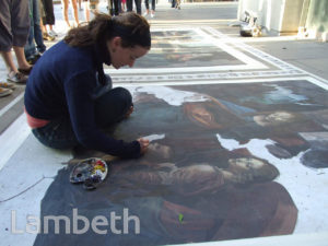 ARTIST EMMA MCNALLY, SOUTH BANK