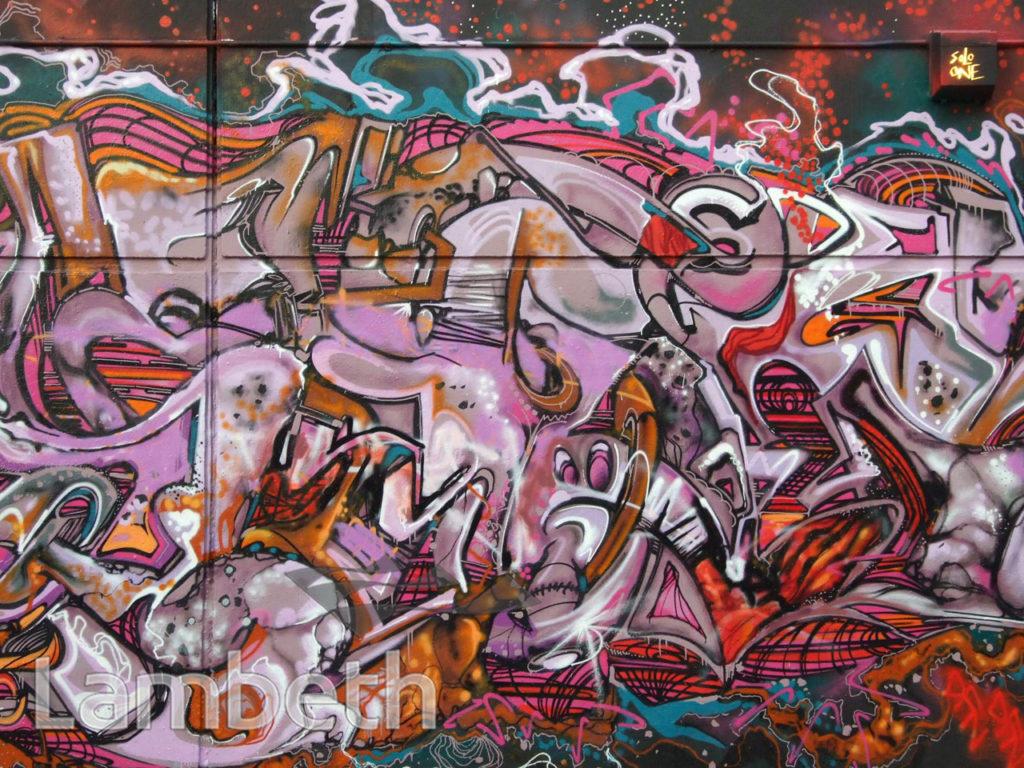 SOLO ONE ARTWORK, AYTOUN ROAD, STOCKWELL
