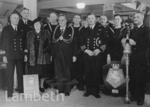 HMS DIOMEDE ADOPTION, WARSHIP WEEK, LAMBETH