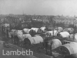 NISSEN HUT HOMES, WORLD WAR II, LOUGHBOROUGH JUNCTION
