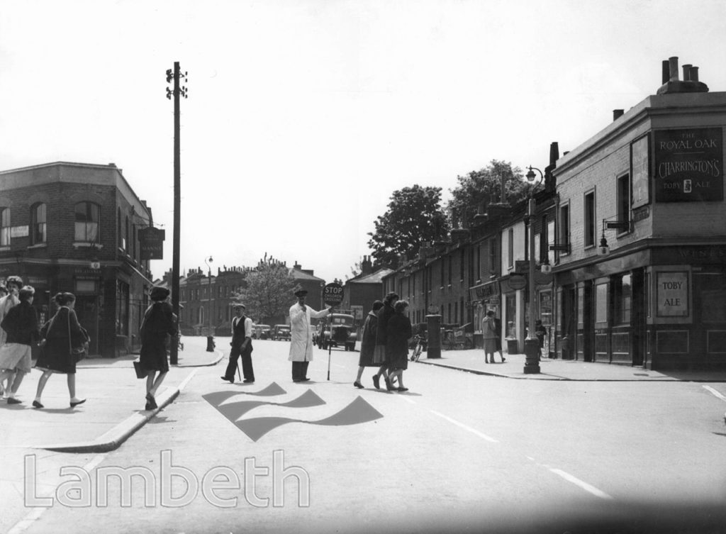 CHILDREN CROSSING, LYHAM ROAD, BRIXTON HILL