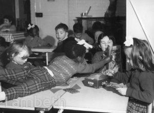 CHILDREN'S CLASS, LAMBETH PRIMARY SCHOOL