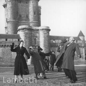 LAMBETH COUNCIL DELEGATION, VINCENNES, FRANCE