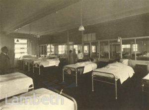 LAMBETH HOSPITAL WARD, RENFREW ROAD, KENNINGTON