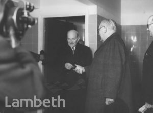CLEMENT ATLEE, HOME OPENING, STUDLEY ESTATE, STOCKWELL
