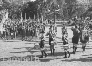 BOYS SCOUTS' PARADE, LAMBETH PALACE