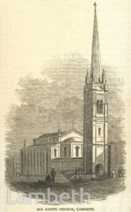 ALL SAINTS' CHURCH, YORK STREET, LAMBETH