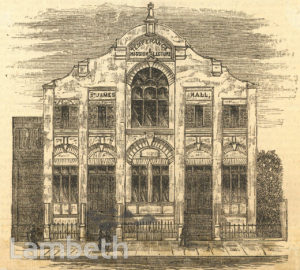 ST JAMES'S HALL, ROYAL ROAD, KENNINGTON