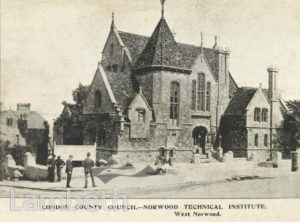 NORWOOD TECHNICAL INSTITUTE, CHAPEL ROAD, WEST NORWOOD