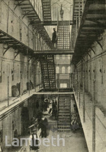 BRIXTON PRISON INTERIOR, BRIXTON HILL