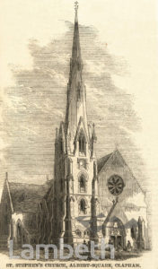 ST STEPHEN'S CHURCH, ST STEPHEN'S TERRACE, SOUTH LAMBETH