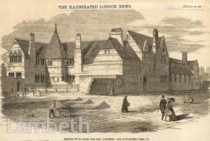 SCHOOLS OF ST MARY-THE-LESS, BLACK PRINCE ROAD, LAMBETH
