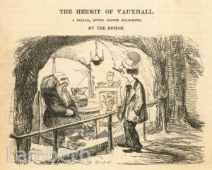 THE HERMIT OF VAUXHALL, VAUXHALL GARDENS
