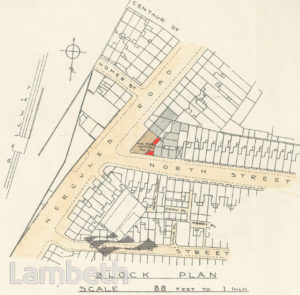 PLAN: HERCULES ROAD, LAMBETH