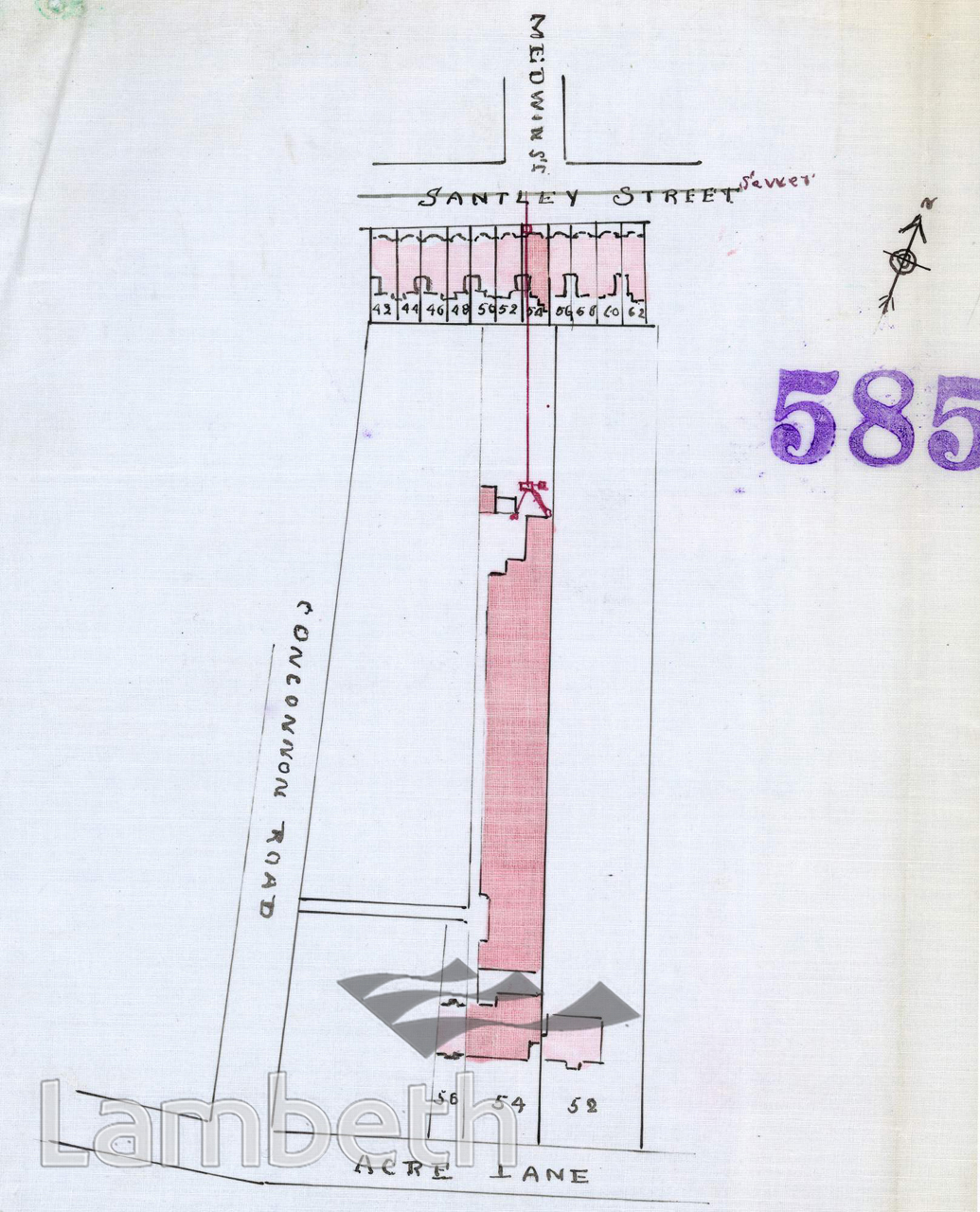 BELVEDERE LODGE LAUNDRY, 54 ACRE LANE, BRIXTON
