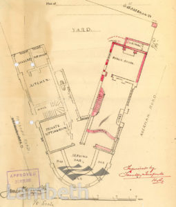 THE HAMMELTON PUBLIC HOUSE, 33 ACKERMAN ROAD, BRIXTON NORTH