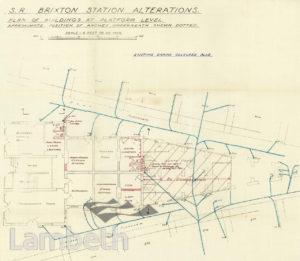 BRIXTON STATION, SOUTHERN RAILWAYS, BRIXTON