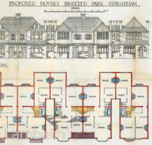 PROPOSED HOUSES, BRAXTED PARK, STREATHAM