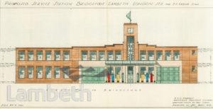 SERVICE STATION, BRIDGEFOOT, VAUXHALL