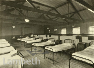 LAMBETH HOSPITAL, RENFREW ROAD, KENNINGTON