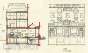 LONDON & SOUTH WESTERN BANK, 463-465 BRIXTON ROAD, BRIXTON