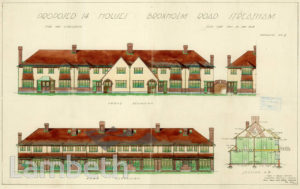 PROPOSED HOUSES, BROXHOLM ROAD, WEST NORWOOD